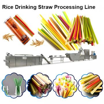 Eco Friendly Juice Cocktail Coffee Biodegradable Drinking Straw Machine