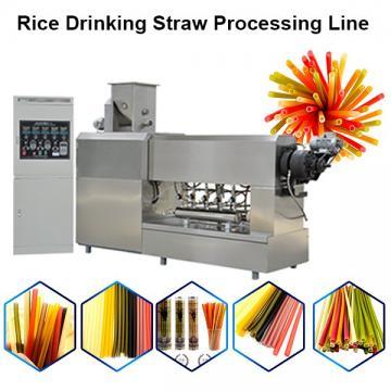 Straws Edible Maker Drinking Straw Machine