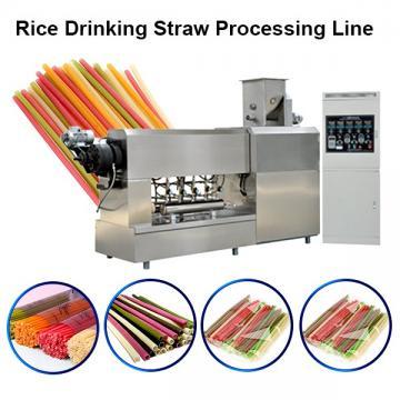 High Speed Straight PP Plastic Drinking Straw Extruder/Making Machine