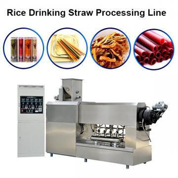 Drinking straw making extrusion machine drinking straw extruder