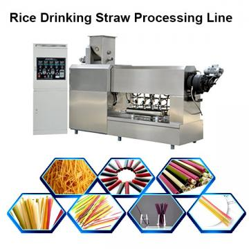 2019 new arrival One Color PP Drinking Straw Extruder straw making machinery
