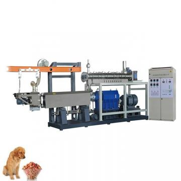 The Production of Pet Dog Food Extruded Processing Equipment Machine