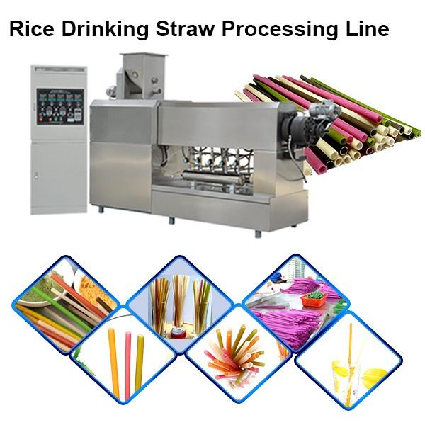 Environmental Strow Pasta Rice Straw Making Equipment Machine for Drinking #1 image