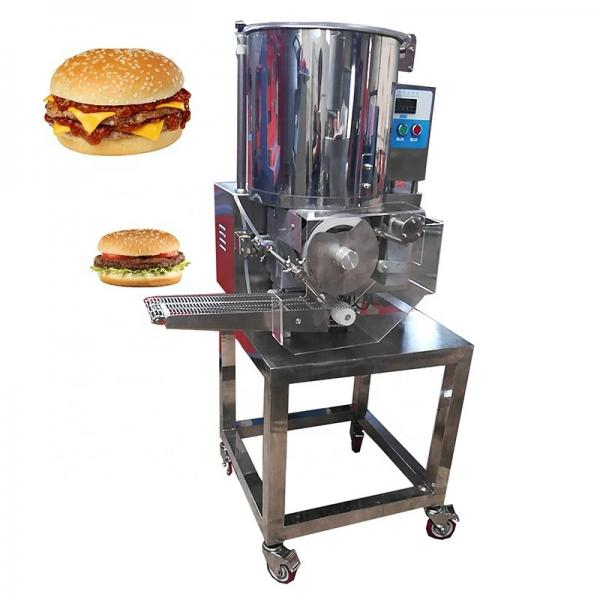 Commercial Square Hamburger Patty Press Maker Burger Making Machine #1 image
