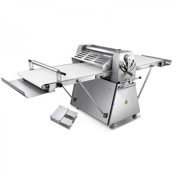 Single Phase Bakery Small Pastry Bread Dough Sheeter for Kitchen Carrying Et-FDD-450A #1 image