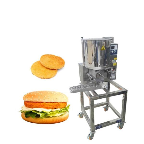 Mini Chicken Hamburger Press Molding Maker Automated Food Machines #1 image