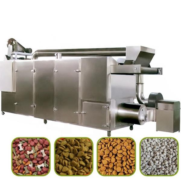 Fish Food Processing Line Machine, Dog Shape Pet Food Extruder as Extrusion Pellet Machine, One of Main Fish Farm Feed Equipment #1 image