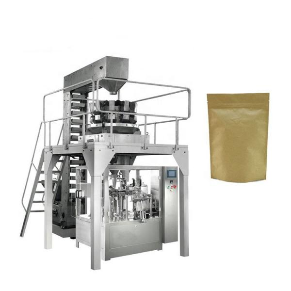 Vertical Grain Popcorn French Fries Crackers Banana Potato Chip Packaging Machine #1 image