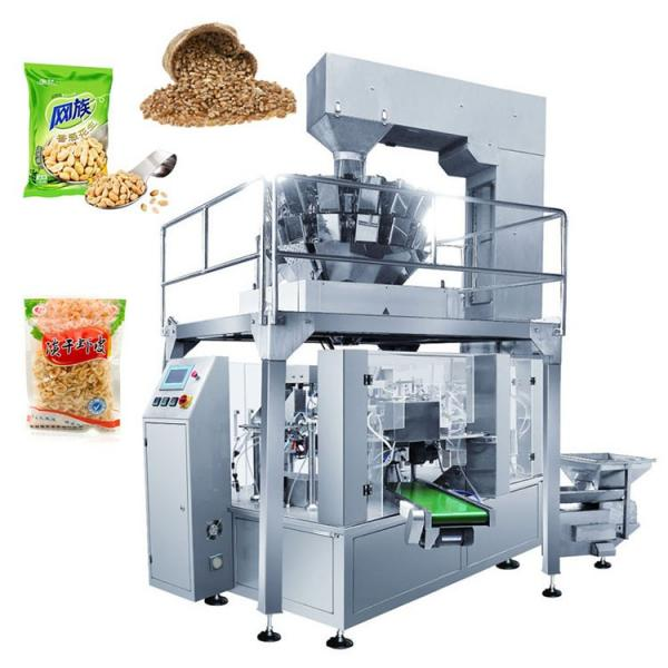 Full Automatic Small Snacks Candy Sugar Peanut Potato Chips Popcorn Packaging Machine #1 image