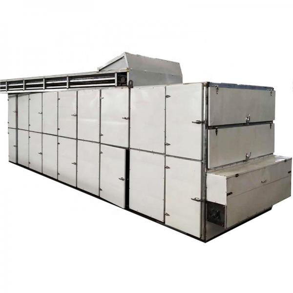 Continuous Movement Microwave Mesh Belt Drying Dryer Machine with Sterilization for Food/Fruit/Vegetable/Chemical/Health Care Products #1 image